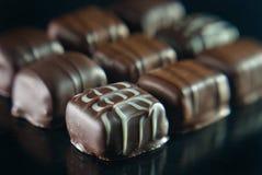 Köstliche Schokoladen Stockbild