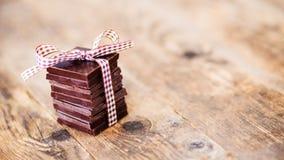 Köstliche Schokoladengeschenke, handgemacht Lizenzfreie Stockfotos
