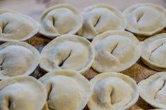 Köstliche selbst gemachte Fleischmehlklöße lizenzfreies stockfoto