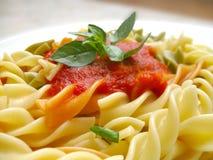 Köstliche Teigwaren Stockfotografie