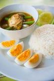 Köstliche Thailand-traditionelle Nahrung Lizenzfreie Stockfotografie