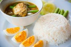 Köstliche Thailand-traditionelle Nahrung Lizenzfreies Stockbild