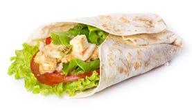 Köstliche Tortilla Lizenzfreies Stockfoto