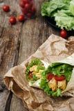 Köstliche Tortilla Stockfotos