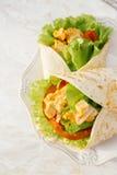 Köstliche Tortilla Lizenzfreie Stockfotos