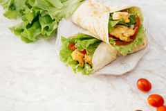 Köstliche Tortilla Lizenzfreies Stockbild