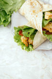 Köstliche Tortilla Stockbild