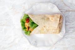 Köstliche Tortilla Lizenzfreie Stockfotografie
