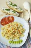 Köstliche vegetarische Nahrung Stockbilder
