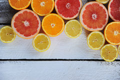 Köstliche Zitrusfrucht Stockbild