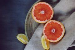 Köstliche Zitrusfrucht Lizenzfreie Stockbilder