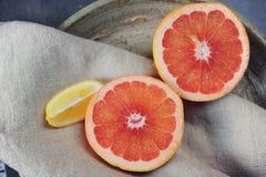 Köstliche Zitrusfrucht Lizenzfreies Stockfoto