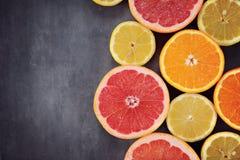 Köstliche Zitrusfrucht Lizenzfreie Stockfotos