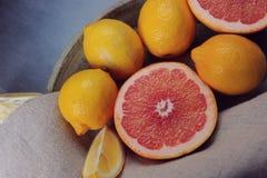 Köstliche Zitrusfrucht Lizenzfreie Stockfotografie