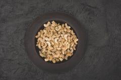 Köstlicher Acajoubaum auf Platte Stockfotos