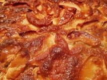 Köstlicher Apfelkuchen lizenzfreies stockbild