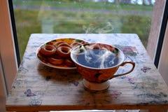 Köstlicher aromatischer Kaffee stockbilder