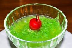 Köstlicher Cherry Cyrup Lizenzfreie Stockfotos