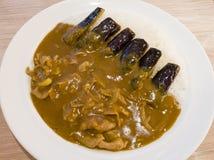 Köstlicher Curry Stockbild