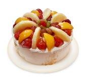 Köstlicher Fruchtkuchen Stockfotos