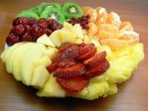 Köstlicher Fruchtsalat Stockfoto