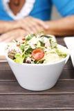 Köstlicher Gartensalat lizenzfreie stockfotografie