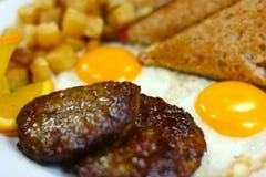 Köstlicher gesunder Mahlzeitabschluß Lizenzfreie Stockfotografie