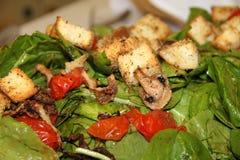 Köstlicher grüner Salat Stockfotografie