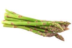 Köstlicher grüner Spargel stockfotos
