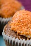 Köstlicher Karottekuchen Lizenzfreie Stockfotos