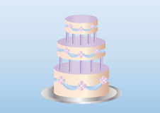 Köstlicher Kuchen Lizenzfreies Stockfoto