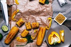 Köstlicher Mais Stockfotos