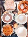 Köstlicher Morgenkaffee stockbilder
