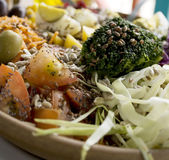 Köstlicher Salat Stockfotografie