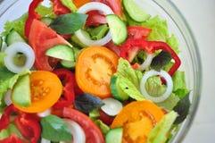 Köstlicher Salat Stockbild