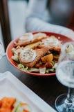 Köstlicher Salat stockfotos