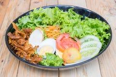 Köstlicher Salat für Gesundheit Stockbilder