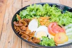 Köstlicher Salat für Gesundheit Lizenzfreie Stockfotos