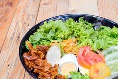 Köstlicher Salat für Gesundheit Lizenzfreies Stockfoto