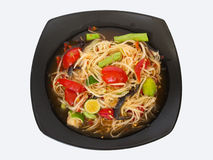 Köstlicher Salat in Thailand Stockbilder