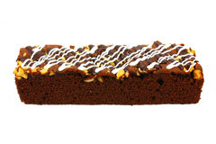 Köstlicher Schokoladenkuchen Stockfotografie