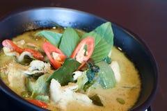 Köstlicher siamesischer grüner Curry Stockbild