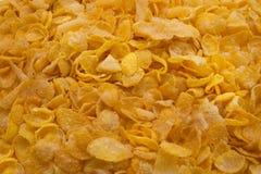 Köstlicher Stapel von Corn Flakes Stockfotos