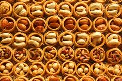 Köstlicher türkischer Nachtisch Stockbilder