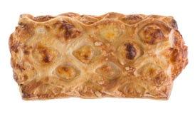 Köstlicher wohlriechender Snack der goldenen Farbe Stockbilder