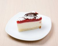 Köstliches cake.dessert Stockfotografie