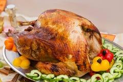 Köstliches extravagantes Danksagungs-Abendessen Lizenzfreie Stockbilder