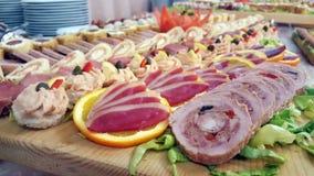 Köstliches Fingerfood Lizenzfreies Stockfoto