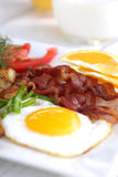 Köstliches Frühstück Stockfotos