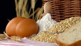 Köstliches frisches Brot-Lebensmittel-Konzept Stockbilder
